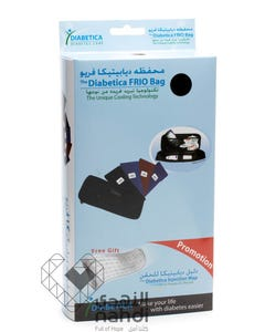 Diabetica Insulin Bag Frio For Insuline Cold + Diapitica Injection Map