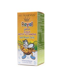 Marnys-Royal-Junior-With-Vitamins Syrup 125 ml