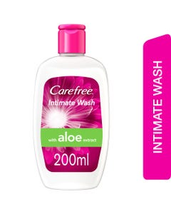 Carefree Intimate Wash For Sensitive Aloe Vera 200 ml