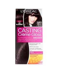 Casting Hair Color Ebony Black 200
