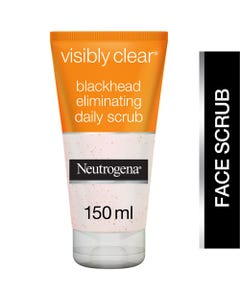 Neutrogena Scrub Visibly Clear Black Head Eliminating 150 ml 31903
