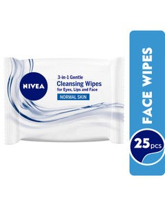 Nivea Cleansing Wipes Normal 25pcs