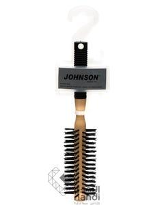 جونسون فرشة استشوار خشب بيد مطاط شعر 345