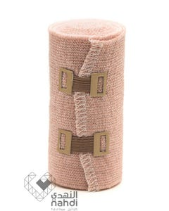 First-Step Elastic Bandage Brown 10 cm Fcs006-3