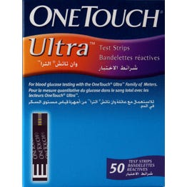 One-Touch Ultra Test Strips 50 pcs.