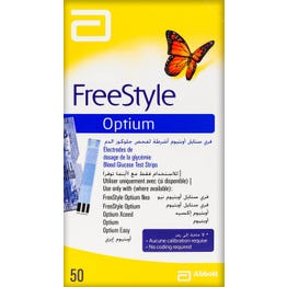 Optium Test Strips 50 pcs
