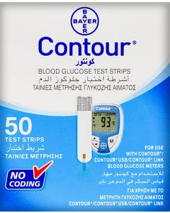 Contour Test Strips 50 pcs