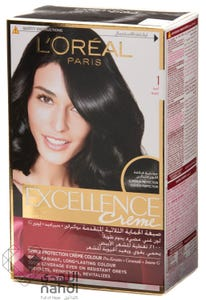 Excellence Hair Color Natural Black 1