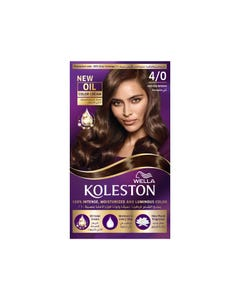 Koleston Hair Color Medium Brown Kit 4/0