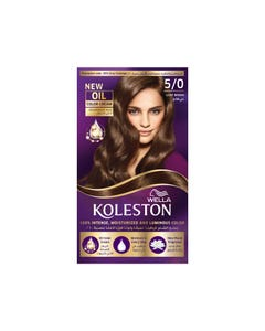 Koleston Hair Color Light Brown Kit 5/0