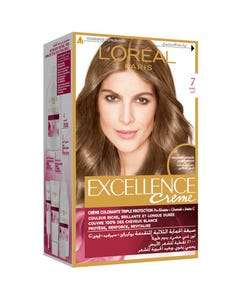 Excellence Hair Color Natural Blonde 7