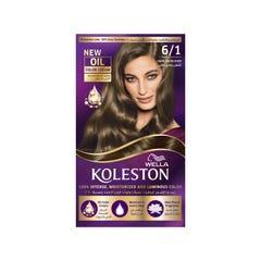 Koleston Hair Color Dark Ash Blonde Kit 6/1