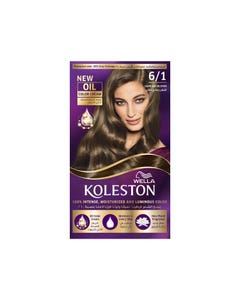 Koleston Hair Color Dark Ash Blonde Kit 6/1