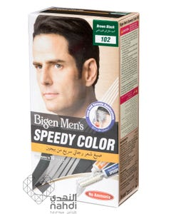 Bigen Hair Color Mens Speedy Brown Black 102