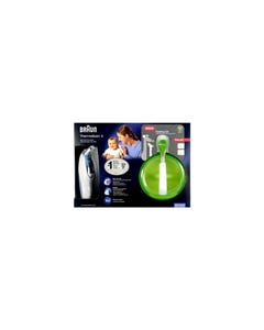 Braun-Thermoscan Ear Thermometer + Gift Irt 4520