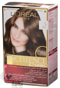 Excellence Hair Color Natural Light Brown 5