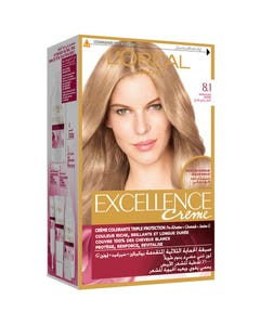 Excellence Hair Color Light Ash Blonde 8.1