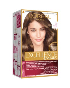 Excellence Hair Color Natural Dark Brown 6