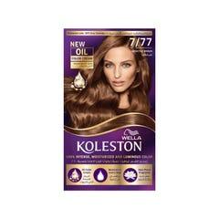 Koleston Hair Color Seductive Brown Kit 7/77