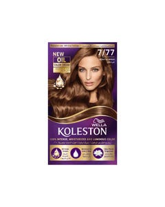 Koleston Hair Color Seductive Brown Kit 7/77