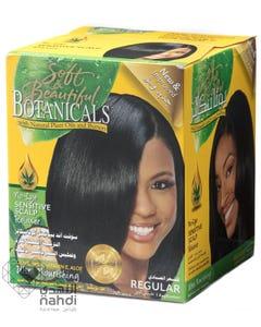 Soft&Beautiful Hair Relaxing Cream Botanicals No Lye Relaxer Regular