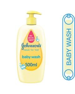 جونسون غسول أطفال للشعر و الجسم 500 مل