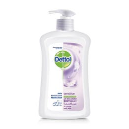 Dettol Liquid Soap Sensitive (Pump) 400 /500 ml