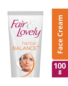 Fair & Lovely Cream Herbal Balance 100 gm
