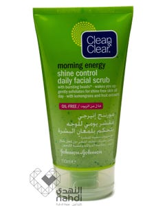 Clean & Clear Scrub Daily Facial Shine Control 150 ml