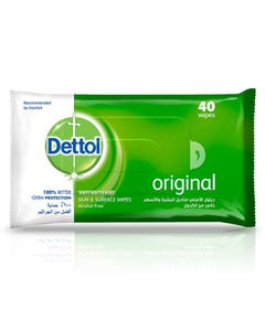 Dettol Antispetic Wet Wipes 40 pcs