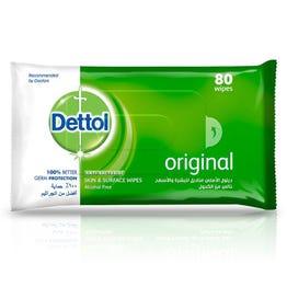 Dettol Antiseptic Wet Wipes 80 pcs