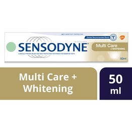 Sensodyne Toothpaste Multi Care Plus Whitening 50 ml