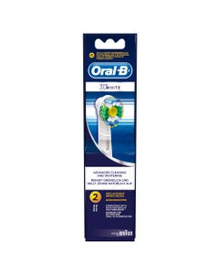 Oral-B Refill 3D White Brush Set 2 pcs