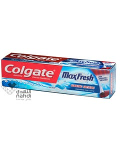 Colgate Toothpaste Maxfresh With Cool Mint 100 ml Blue