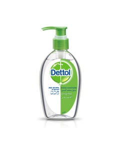 Dettol Antiseptic Hand Sanitizer Gel Instant Original 200 ml