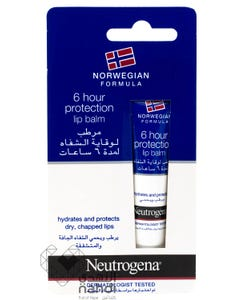Neutrogena Lip Balm For 6 Hours 15 ml