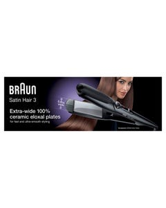 Braun Hair Straightener Satin Hair 3*1 ST310