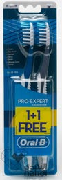 Oral-B Toothbrush Expert Complete 7 40 Medium Promo Pack (1+1 Free)