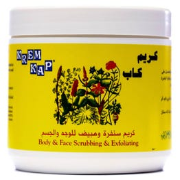 Kap Cream Scrubbing & Exfoliating 500 ml
