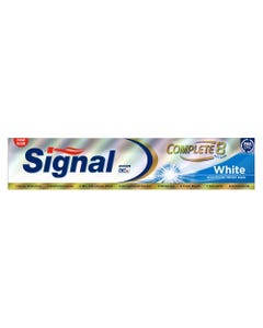 Signal Toothpaste Complete 8 Action White 120 ml