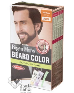 Bigen Hair Color Mens Beard Color Dark Brown B103