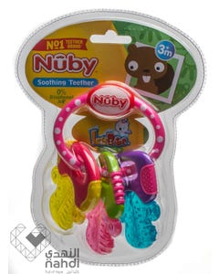 Nuby Baby Teether Ice Gel Keys Shaped (Bpa Free)482