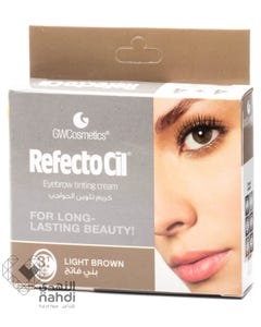 Refectocil Eyebrow Tinting Cream Light Brown 3.1