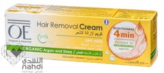 OE Hair Removal Cream With Organic Argen & Shea For Dry Skin 100 ml