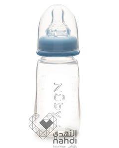 نوبي رضاعة بلاستيك غير قابلة للتقطير 120 مل (خالي من BPA)1157