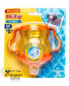 نوبي كوب أطفال كوب عصير بحلمة مطاطية غير قابل للتقطير 210 مل (خالي من BPA)9865