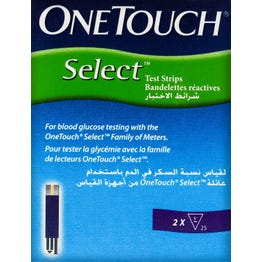 One-Touch Select Test Strips 50 pcs.