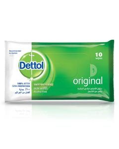 Dettol Antiseptic Original Wet Wipes 10 pcs