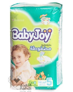 Baby Joy Size (5) Carry Pack 10 Diapers