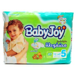 Baby Joy Size (5) Value Pack 27 Diapers